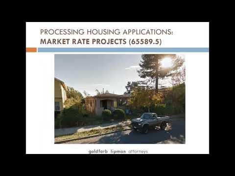 2017 California Housing Legislation Webinar