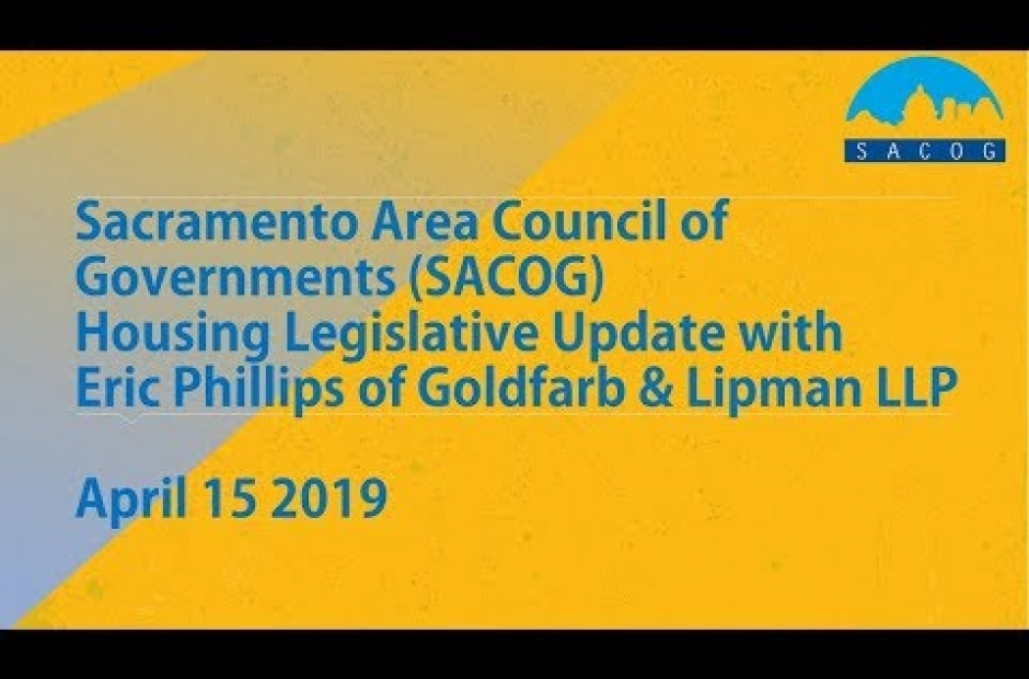 2019 Housing Legislative Update Webinar